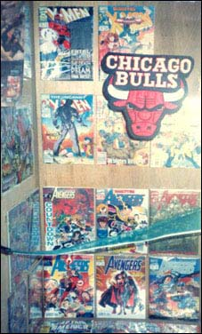 My comic collection back in those early X-Men days...